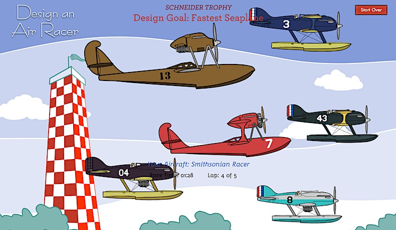 Design an Air Racer