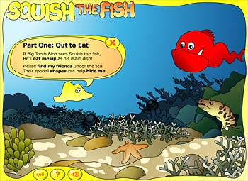 Figure 6. Scene from Squish the Fish